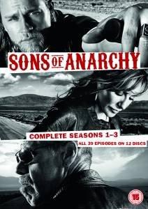 Sons of Anarchy Seasons 1-3 DVD Box Set - £8.99 @ Zavvi