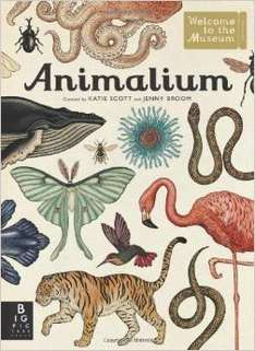 Animalium (Welcome to the Musuem)  Hardcover  book £7.50  @ Amazon Lightning Deal  (free delivery £10 spend/prime)