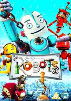 Robots (DVD) £3.01 @ Amazon (Free delivery on orders over £10)