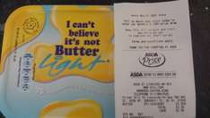 I Can't believe it's not butter 1KG (Including light) 1kg only £1.50 @ Asda instore.
