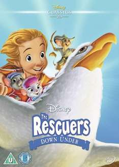 The Rescuers Down Under £3.50 @ Amazon (Free delivery when spending over £10 / Prime)