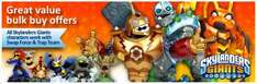 Roll your own Skylanders Giants bundle (PS3) including game, 20 figures, 3 giant figures and 1 weapon for just £39.93 delivered (Smyths)