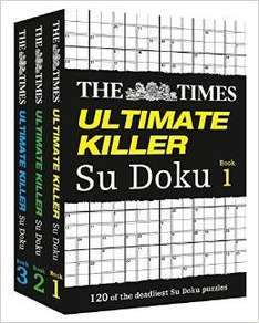 The Times Ultimate Killer Su Doku Book 1 To 3, Gift Set [ Paperback ] £7.65 @ Amazon  (free delivery £10 spend/prime)