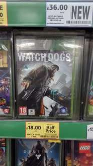 Watchdogs xbox 360 - £18 @ Tesco instore