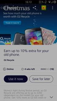 O2 Priority - Earn Up to 10% Extra for Your our Old Phone