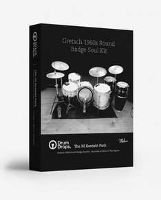 1960's Gretsch Round Badge Drum Sample Kit