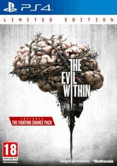 THE EVIL WITHIN LIMITED EDITION PS4 XBOX ONE @ GAME - £22.49