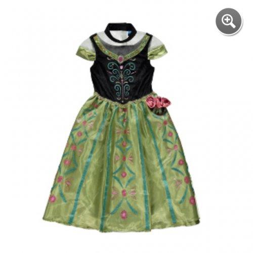 Musical Frozen Anna coronation dress at asda £12.50