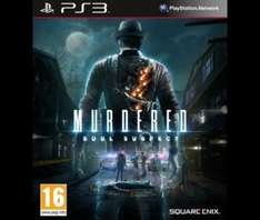 Murdered: Soul Suspect (PS3) £6 / Kingdom Hearts 1.5 HD Remix (PS3) £8.00 Delivered @ Tesco Direct