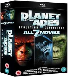 Planet of the Apes: Evolution Collection Blu-ray £15.99 AT Zavvi
