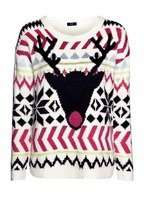 50% Off - Tesco F&F Neon Reindeer Fair Isle Jumper £10 - Free Click & Collect (Also 50% off other Christmas Jumpers, Mens & Womens)