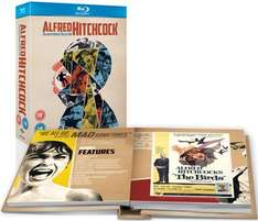 Alfred Hitchcock: The Masterpiece Collection [14 movies] (Blu-ray) - £34.99 @ Zavvi