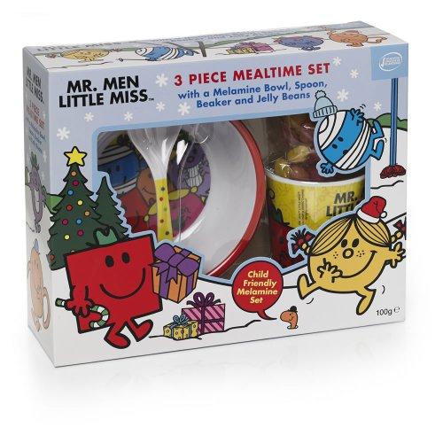 Mr Men & LIttle Miss Kids Mealtime Set £1.99 @ Home Bargains