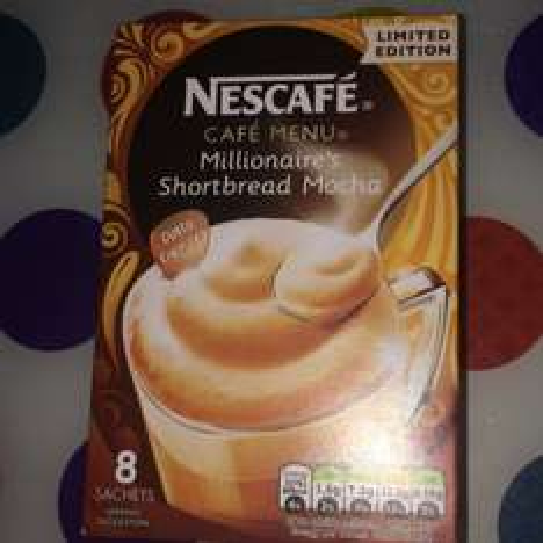 Nescafé Millionaires Shortbread Mocha 8 servings 99p @ Home Bargains