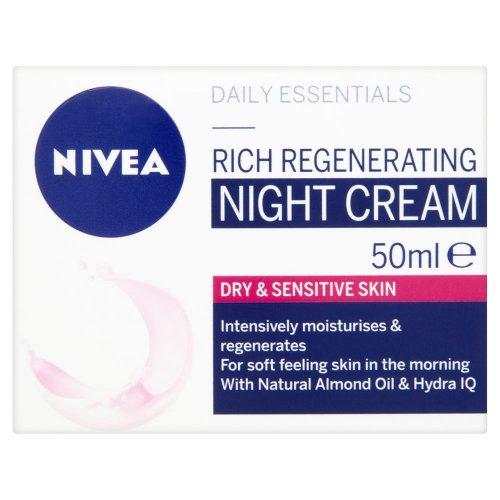 Nivea Visage Daily Essentials Regenerating Night Cream 50ml £2.00 @ Wilko