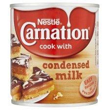 Carnation condensed/evaporated milk £1 @ tesco