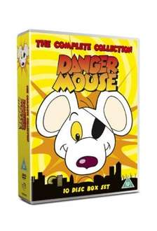 Danger Mouse (Dangermouse) The Complete Collection 10 Disc DVD Box Set - Only £11.99 @ AMAZON