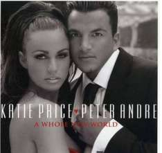 Katie Price & Peter Andre A Whole New World £6.99  CD @ Amazon Martins Deals