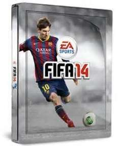 FIFA 14 steelbook with lenticular (PS3) - £3.06 + £0.95 delivery @ Amazon