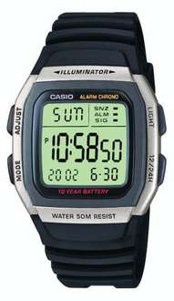 Casio W-96H-1AVES Mens Resin Digital Watch, £9.99 @ Amazon (free delivery £10 spend/prime)
