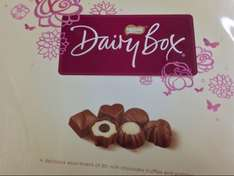 Dairy Box 720g was 15.00 now £5.00 at Tesco
