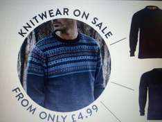 Tokyo Laundry knitwear from £4.99  +£2.99 delivery