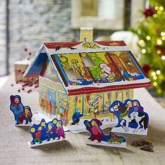 ADVENT HOUSE with chocolates was £5.99, now £0.99, free click and collect @ lakeland
