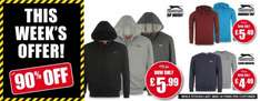 slazenger hoodies, jumpers and zip up hoodies £5.49 @ Sportdirect instore & online