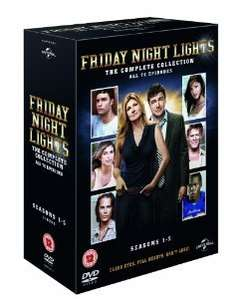Friday Night Lights: Series 1-5 DVD box set  £16 from Amazon