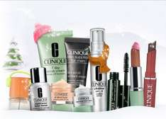 5 free samples at Clinique with any purchase. No min spend and free del