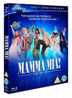 Mamma Mia! - Augmented Reality Edition Blu-ray £2.95 at Amazon (spend >£10 total for free delivery)