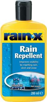 Rain X £4.79  Amazon / EuroCarParts