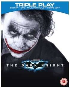 The Dark Knight - Triple Play (Includes UltraViolet Copy) Blu-ray £6.99 @ Zavvi (£5.49 with WELCOME code)