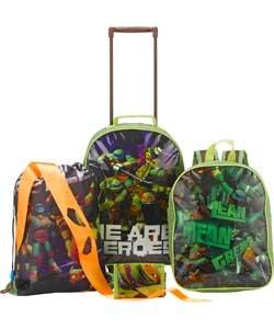 Teenage mutant ninja turtles 5 piece luggage set £14.99 @ Argos