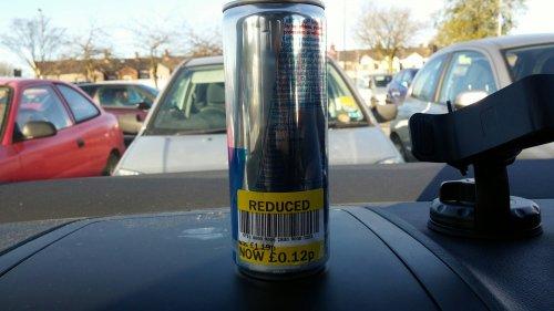 Red bull 250ml can (sugarfree) 12p each @ Tesco