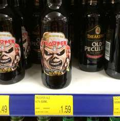 The Trooper Iron Maiden Beer £1.59 @ B&M