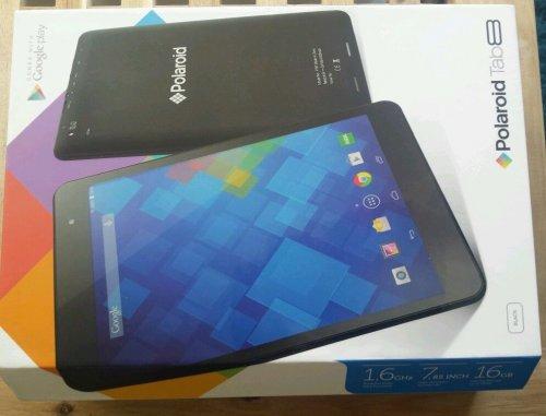 Polaroid Tab 8 - 16 GB - QuadCore7.85 in. - Android 4.4 (KitKat) - Black £79.00  at ASDA DIRECT