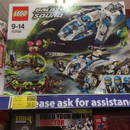 Lego Galaxy Squad £39.99 @ B&M