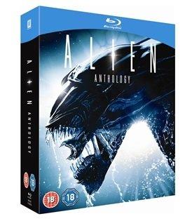 Alien Anthology (4 Discs) (Blu-ray) @ Play.com  /  LinkEntertainment - £14.98