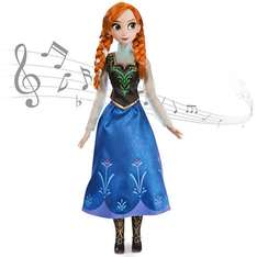 Anna From Frozen Singing Doll BACK IN STOCK @ Disney Store - £29.95 with postage