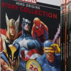 Marvel Hero Origins Story Collection 4 Book Box Set £4 in store WHSmith