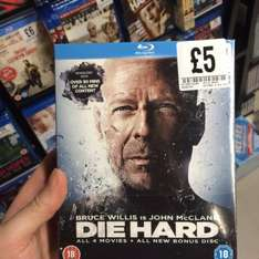 Die hard 1-4 box set £5 fopp