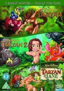 Tarzan/Tarzan 2/Tarzan & Jane Disney DVD @ Amazon (Free delivery £10 spend  /  Prime)