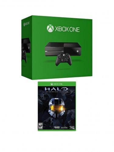 Xbox One + Halo MC bundle. Argos Collect in Store. £329.00 plus £10 gift token.
