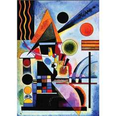 1000 piece Jigsaw - Balancement by Kandinsky @ The Works (Free click and collect)