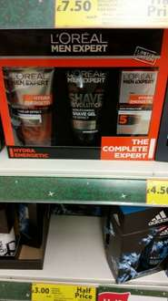 L'Oreal Giftsets reduced to £7.50 at Tesco