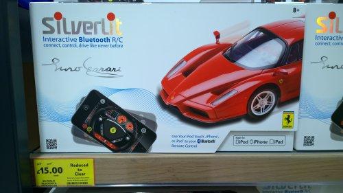 Silverlit Interactive Bluetooth R/C Ferrari £15 from £56 @ Tesco Coventry Ricoh