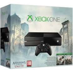 Xbox One Console - Includes Assassins Creed: Unity & Assassin's Creed: Black Flag £299.99 Delivered @ Zavvi