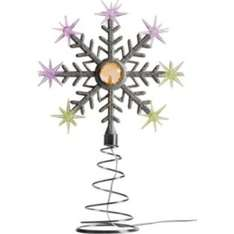 light up tree topper, argos, £5.99