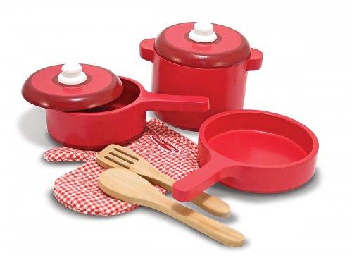 Melissa & Doug Wooden Kitchen Accessory Set @ Amazon